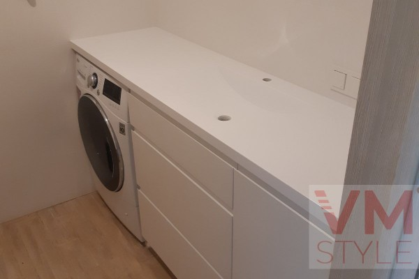Столешница на стиральную машину Staron 1800х500