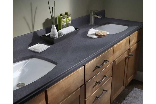 Столешница для ванной из акрилового камня Corian 1200х600