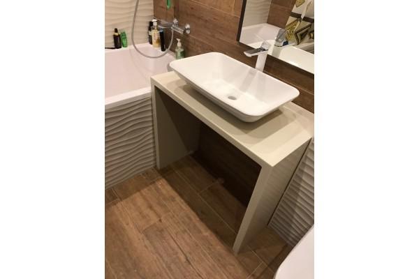 Столешница для ванной из акрилового камня Staron 1000х600